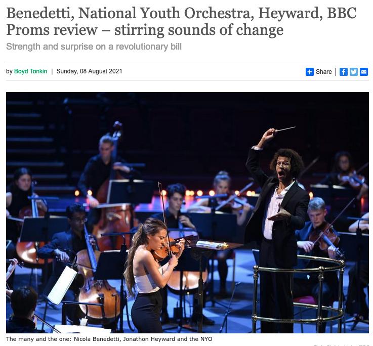 The Arts Desk BBC Proms Review